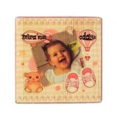 Bebek Odası Kapı ve Duvar Süsü (Kız)