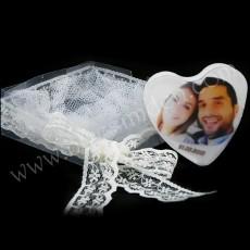 Fotoğraflı Sabun (Kalp)