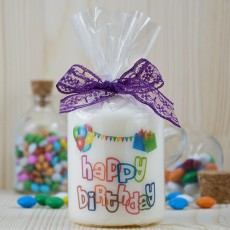 Doğum Günü Hediyesi - Fotoğraflı Happy Birthday Mum