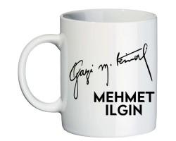 Gazi Mustafa Kemal İmzalı Kupa Bardak
