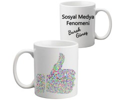 Sosyal Medya Kupa Bardak
