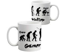Erkeğe Hediye - Gamer Evolution Kupa Bardak