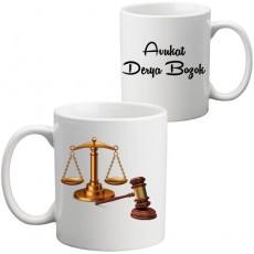 Avukata Hediye Kupa Bardak