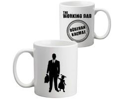 Kız Babasına Hediye - İsimli Working Dad Kupa Bardak