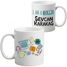 Blog Yazarı Kupa Bardak - Blogger'a Hediye