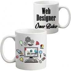 Web Tasarımcıya Hediye Kupa Bardak