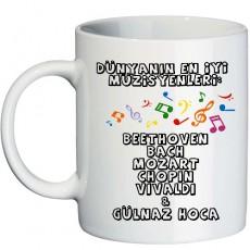 Müzik Öğretmenine Hediye - Kupa Bardak