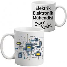 Elektrik - Elektronik Mühendisine Hediye Kupa Bardak