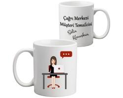 Çağrı Merkezi - Müşteri Temsilcisi Kupa Bardak (Bayan)