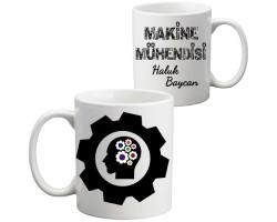 Makine Mühendisine Hediye Kupa Bardak