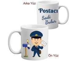 Postacıya Hediye Kupa Bardak
