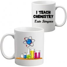 Kimya Öğretmenine Öğretmenler Günü Hediyesi Kupa Bardak