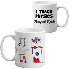 Fizik Öğretmenine Öğretmenler Günü Hediyesi Kupa Bardak