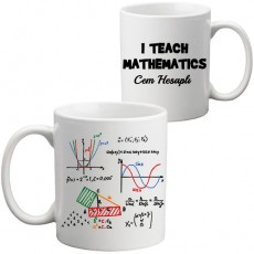 Matematik Öğretmenine Öğretmenler Günü Hediyesi Kupa Bardak