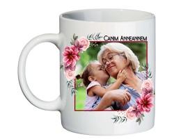 Canım Anneannem Anneler Günü Hediyesi Fotoğraflı Kupa Bardak - Anneanneye Hediye