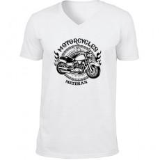 İsme Özel Motorcu Tişört