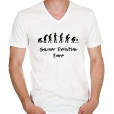 Gamer Evolution - Erkeğe Hediye Tişört