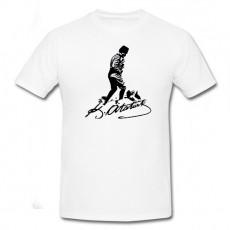 Atatürk İmzalı Tişört - Bisiklet Yaka - Unisex