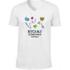 Biyoloji Öğretmenine Hediyelik Tişört