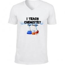 Kimya Öğretmenine Hediyelik Tişört