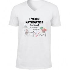 Matematik Öğretmenine Hediyelik Tişört