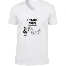Müzik Öğretmenine Hediyelik Tişört