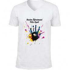 Resim Öğretmenine Hediyelik Tişört