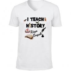 Tarih Öğretmenine Hediyelik Tişört