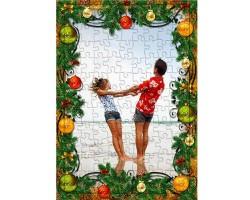 Yılbaşı Hediyesi - Yeni Yıl Temalı Fotoğraf Baskılı Puzzle