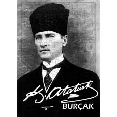 Atatürk Fotoğraflı Hediyelik İsim Baskılı Puzzle