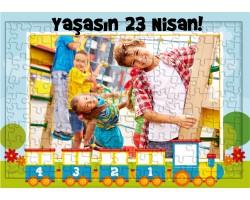 23 Nisan Hediyesi Fotoğraflı Puzzle
