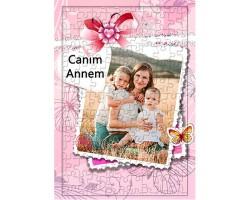 Anneler Günü Hediyesi - Fotoğraf Baskılı Puzzle