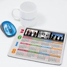 2017 Takvimli Fotoğraflı Mousepad