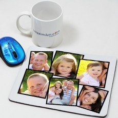 Kolaj Fotoğraflı Mousepad