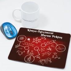 Kimya Öğretmenine Öğretmenler Günü Hediyesi Mousepad