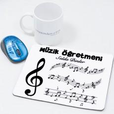 Müzik Öğretmenine Öğretmenler Günü Hediyesi Mousepad