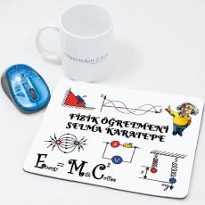 Fizik Öğretmenine Öğretmenler Günü Hediyesi Mousepad