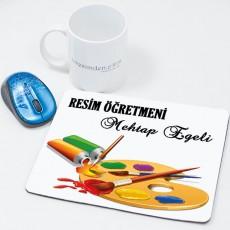 Resim Öğretmenine Öğretmenler Günü Hediyesi Mousepad
