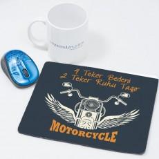Motorsiklet Tasarım Motorcu Hediyesi Mousepad