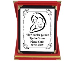 İlk Anneler Günü Hediyesi İsimli Plaket
