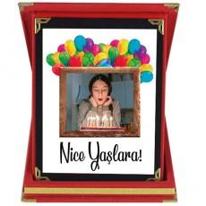 Nice Yaşlara Fotoğraflı Doğum Günü Hediyesi Plaket