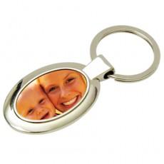Fotoğraflı Oval Anahtarlık
