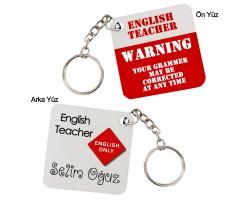 İngilizce Öğretmenine Hediye Anahtarlık