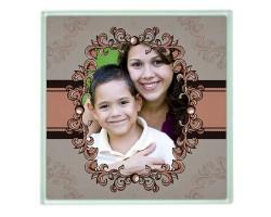 Anneler Günü Hediyesi - Fotoğraflı Bardak Altlığı
