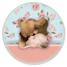 Anneler Günü Hediyesi - Fotoğraf Baskılı Bardak Altlığı