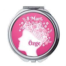 8 Mart Dünya Kadınlar Günü Hediyesi Cep Aynası