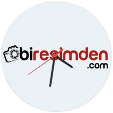 Promosyon Baskılı Logolu Cam Duvar Saati