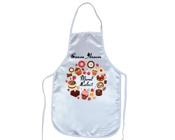 Anneler Günü Hediyesi - İsimli Canım Annem Mutfak Önlüğü