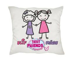 En İyi Arkadaşa Hediye - Best Friend Arkadaşlık Yastığı