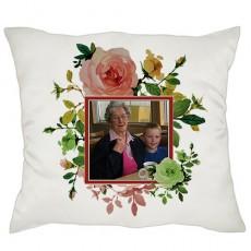 Anneanneye - Babaanneye Hediye Fotoğraflı Yastık
